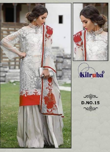 Kilruba Hit Latest Heavy Worked Colours Heavy Worked Net Festive Wear Designer Salwar Suit Collection