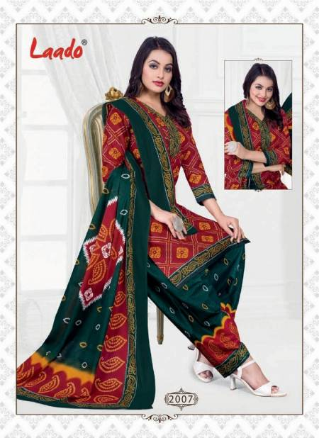 Laado Bandhni Special Vol 2 Latest Designer Pure Cotton Printed Dress Material Collection