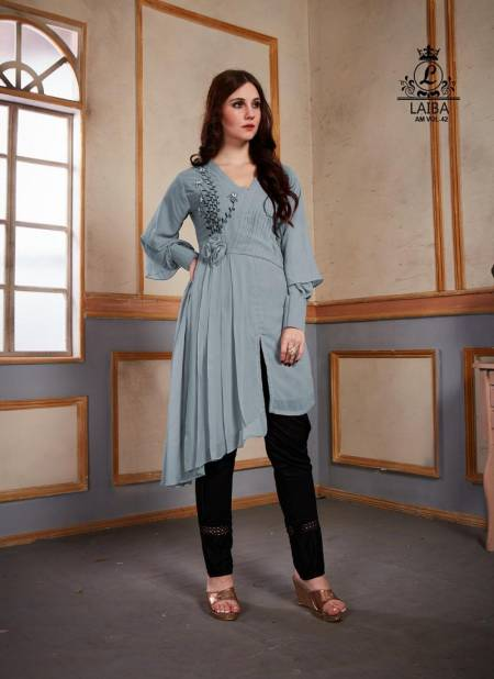 Laiba Sophisticated Edition 42 Fancy Casual Party Were Readymade Salwar Kameez Collection