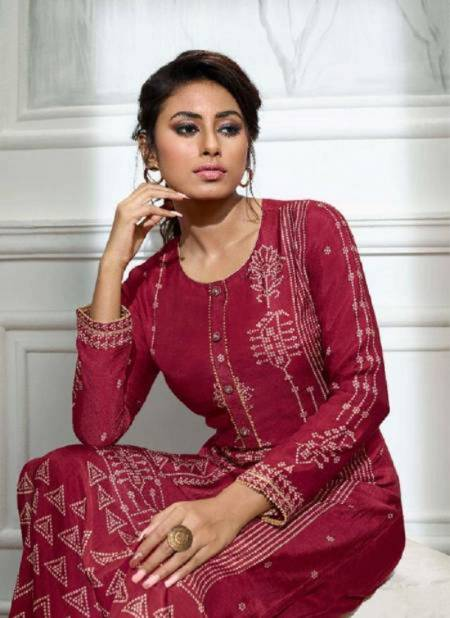 Lt Bandhni Designer Latest Ethnic Party Wear Long Kurti Bottam collection