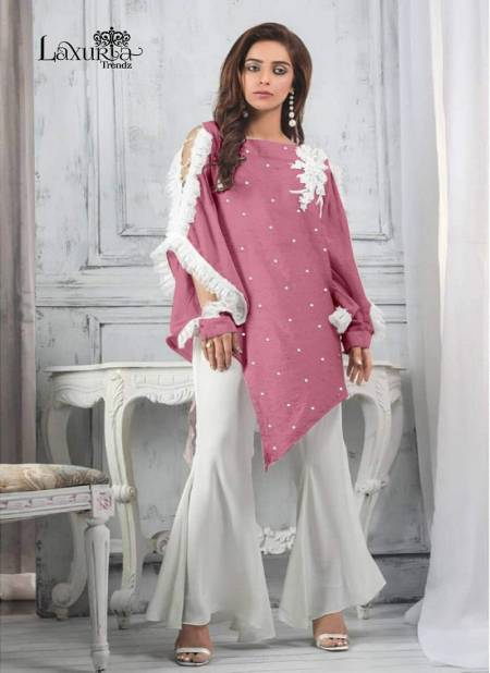 Luxuria Trendz 1121 Latest Designer Party Wear Stylish Top With Bottom Collection
