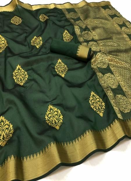 Maahi 16 Latest fancy Designer Festive Wear Heavy Banarasi Silk Saree Collection
