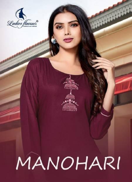 Manohari Fancy Festive Wear Heavy Designer Pure Cotton Kurti