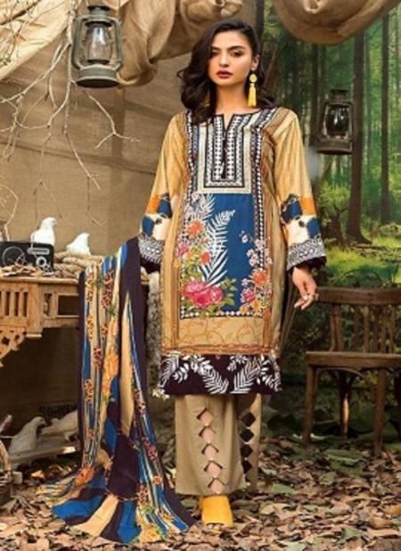 Mariya B Lawn Collection Edition 3 Latest fancy Designer Pure Lawn Cotton Karachi Dress Material Collection