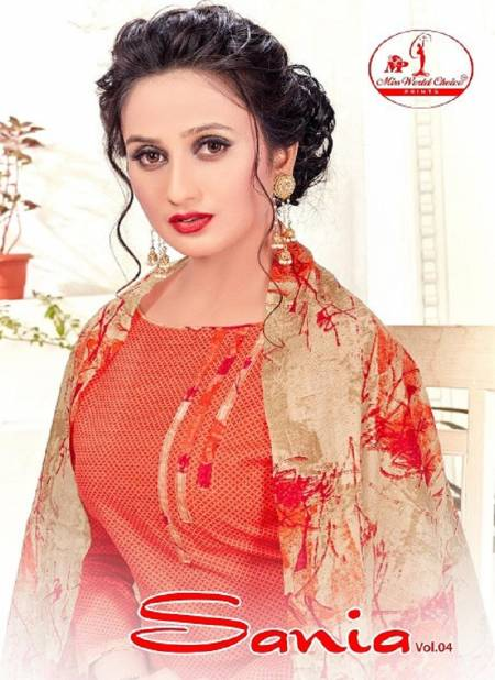 Miss World Choice Sania Vol 4 Latest Reagular Wear Pure Cotton Dress Material Collection