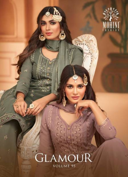 Mohini Glamour 95 Exclusive Latest Fancy Designer Festive Wear Georgette Embroidery Work Salwar Suit Collection