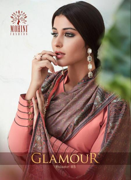 Mohini Glamour Vol 85 Latest Designer Stylish Classy Party Wear Suit  Collection With Printed Dupatta