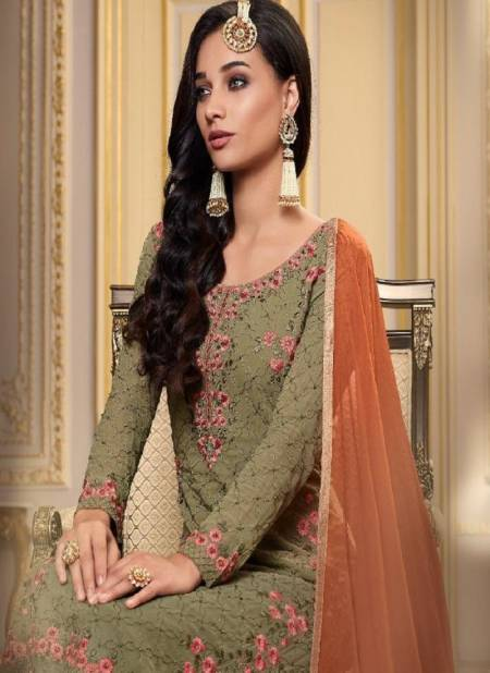 MOHINI GLAMOUR VOL-93 Latest Fancy Festive Wear Designer Georgette Embroidered Heavy Work Salwar Suit Collection
