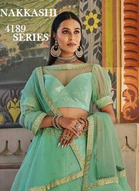 Nakkashi Patrika Latest Designer Heavy Work Wedding and Festive Wear Lehenga Choli Collection