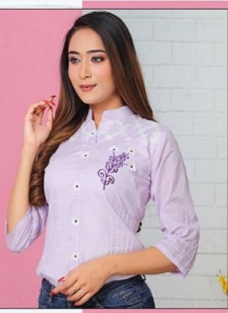 Nayra Forever Latest fancy Designer Casual Wear Western Ladies Top Collection