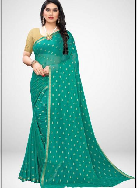 Nazmin Designer Printed Casual and Regular Wear Chiffon Sarees Collection