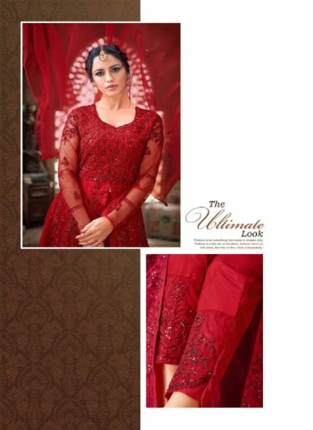 Nazneen 1111 Series Latest Collection Of Heavy Designer Full Heavy Thread Embroidery Work Salwar  Suit Collection