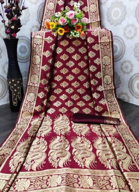 Niharika Silk 36 Designer Fancy Wedding Wear Banarasi jacquard Saree Collection
