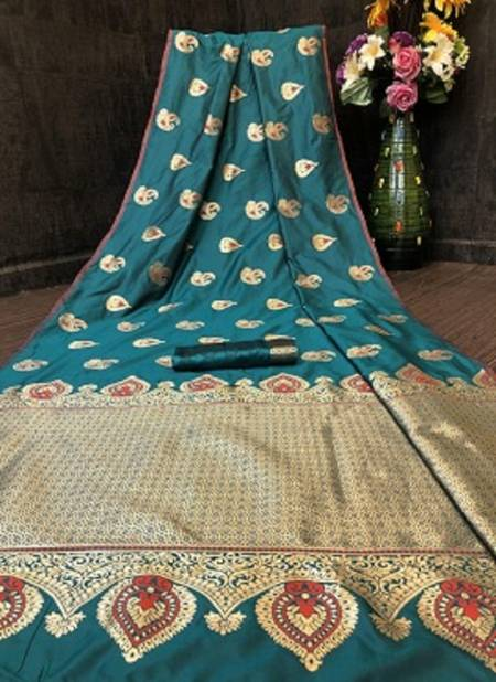 Niharika Silk 40 Designer Fancy Wedding Wear Banarasi jacquard  Saree Collection