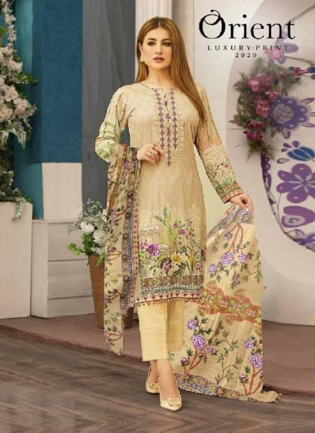 Orient NX Luxury Print 2020 Exclusive Karachi Cotton Dress Material Collection