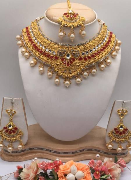Pretty Wedding Designer Kundan Jewelry Collection