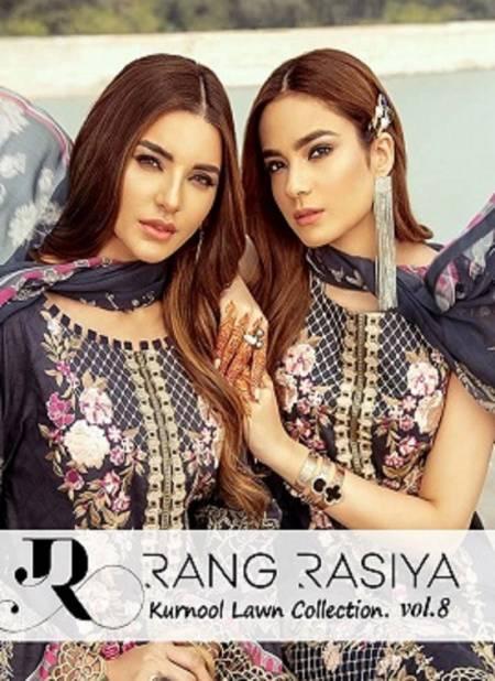 Rang Rasiya Kurnool Lawn Collection 8 Latest fancy Casual Wear Karachi Printed Dress Materials Collection