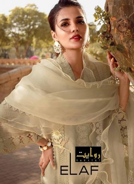 Rawat Elaf Luxury Lawn 2021 Latest Fancy Festive Wear Pure Jam Cotton Designer Exclusive Pakistani Salwar Suits Collection