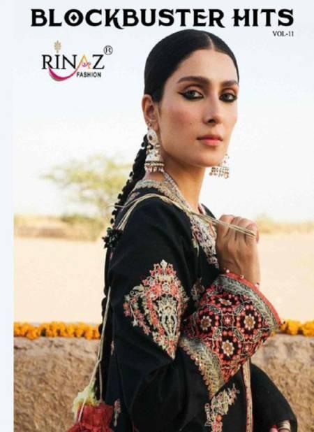 Rinaz Block Buster Hits 11 Fancy Designer Festive Wear Heavy Georgette  Premium Pakistani Salwar Suit Collection