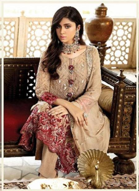 Rinaz Eleonora Faux Nx Designer Exclusive Collection Of Faux Georgette Heavy Worked Pakistani Suits