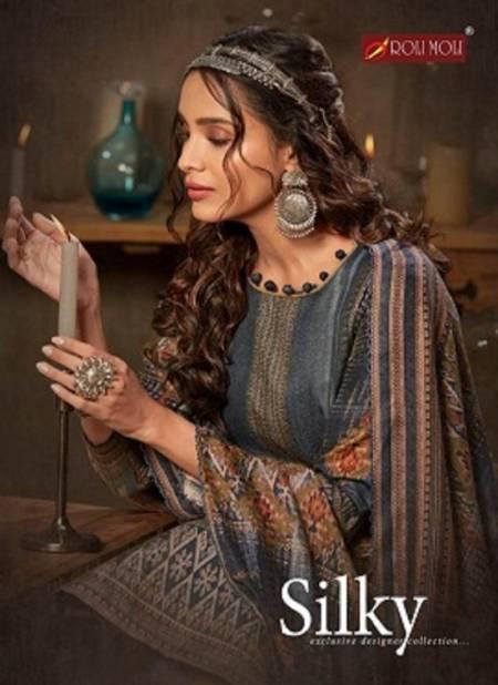 Roli Moli Silky 7  Latest Collection Of Designer Ready Made Pure Pashmina Jacquard
