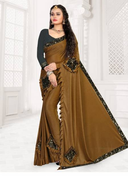 Ronisha lootera Bollywood style Party Wear Lycra designer saree collection