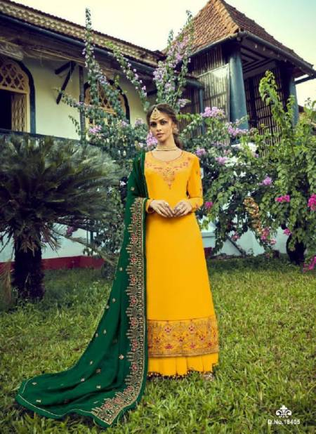 Rsf Ozas Designer Heavy Exclusive Wedding Wear Georgette Heavy Salwar Suits Collection