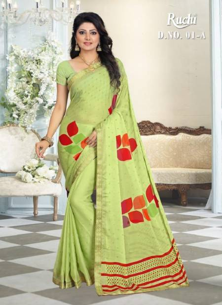 RUCHI Latest fancy Designer Regular Casual Wear silk georgette Saree Collection