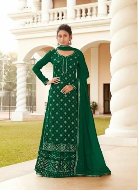 Ruhi 23031 Series Latest Fancy Designer Festive Wear Heavy Chinon Embroidered Salwar Kameez Collection