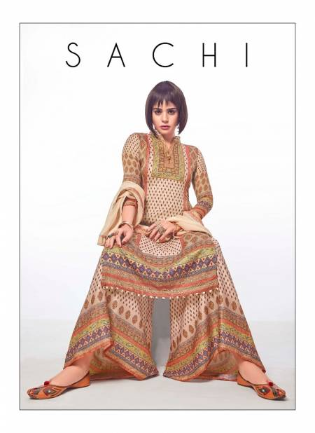 SACHI Premium Cotton Collection Latest Fancy Regular Wear Cotton Stain Printed Salwar Suit Collection