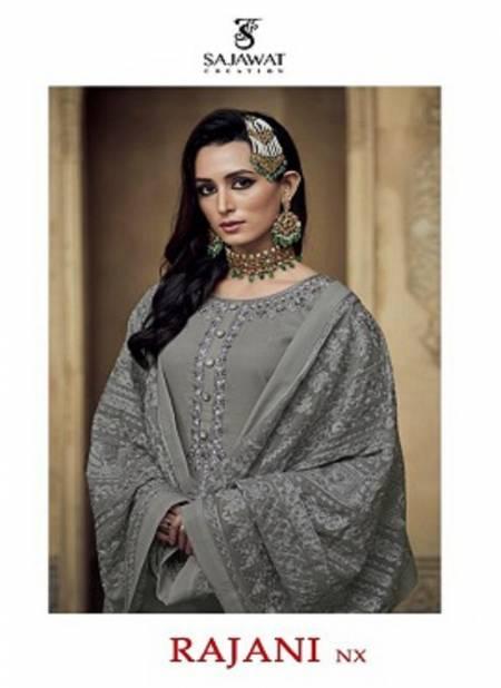 Sajawat Rajani 1 Nx Heavy Fancy Festive Wear Faux Georgette Designer Readymade Salwar Suit Collection