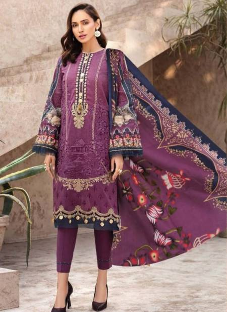Sana Safinaz Kurnool 5th Edition Designer Pure Lawn Print With Pure Lawn Dupatta Dress Material Collection