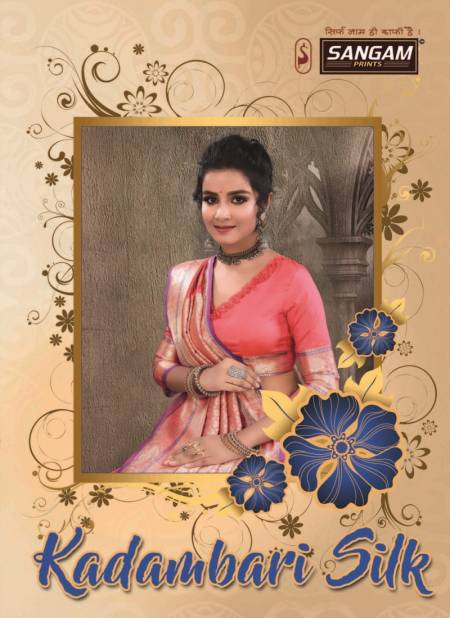 Sangam Kadambari Latest Exclusive Designer Festive Wear Soft Silk Sarees Collection