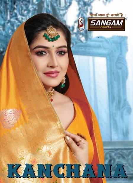 Sangam Kanchana Latest Wedding Wear Pure Banarasi Silk Sarees Collection