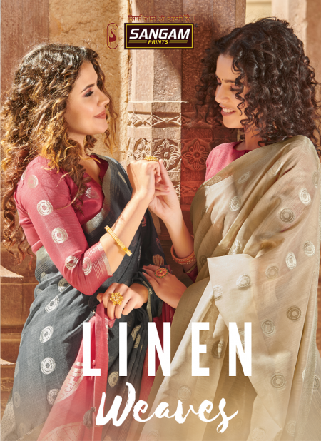 Sangam Linen Weaves New Collection Of Casual Wear Festive Wear Saree