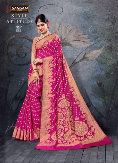 Sangam Natraj Latest Collection of Regular Wear Handloom Cotton Saree