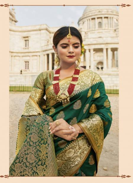 Sangam Red Stone  Latest heavy Casual  party Wear Silk Saree Collection