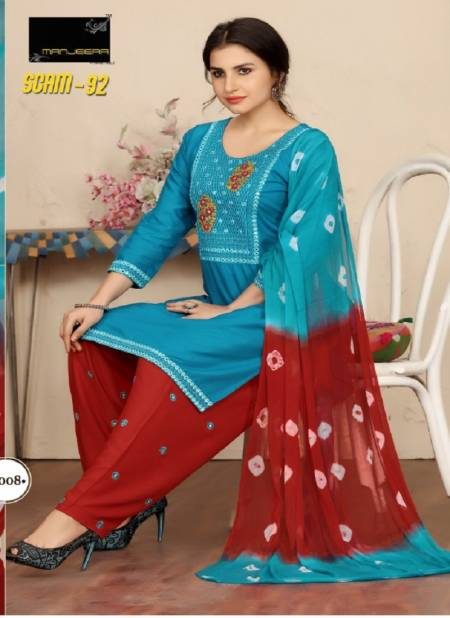 Scam 1992 Latest Fancy Designer Rayon Patiyala Ready Made Dress Collection