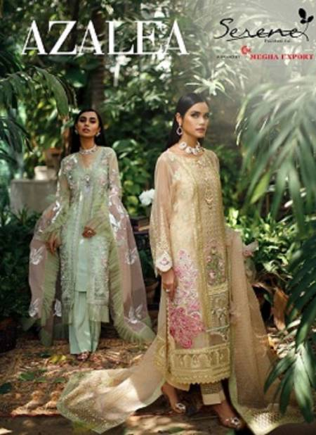 Serena Azalea Festive Wear Heavy Embroidery Work Desingner Pakistani Salwar Suits Collection