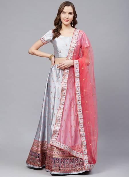 Shaily Laxmi 1 Latest Exclusive Designer Satin Festive Wear Lehenga Choli  Collection