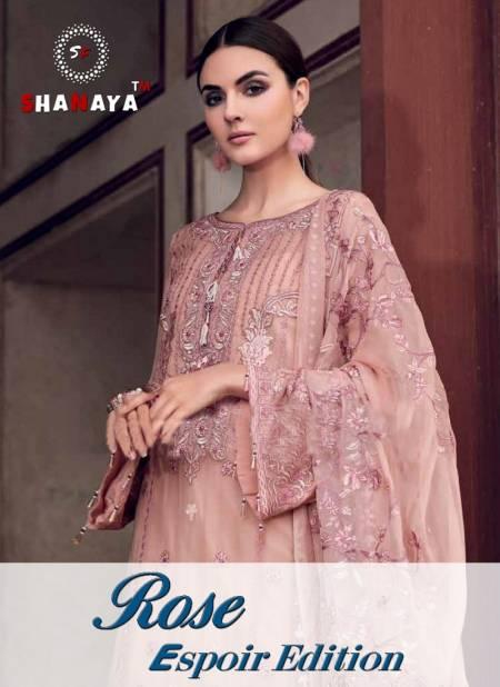 Shanaya Rose Espoir Edition Latest Designer Festive Wear Salwar Suit Collection