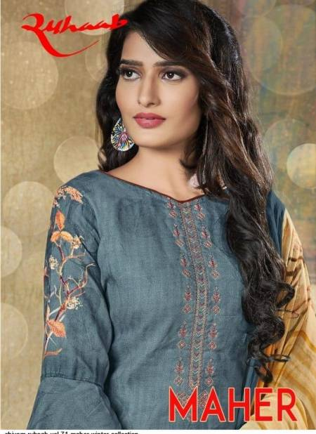 Shivam Export Ruhaab Vol 71 Special Winter Pashmina Fancy Embroidery Work Designer Party Wear Salwar Suit Collections