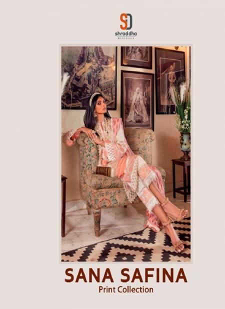 Shraddha Sana Safina Latest Designer Fancy Casual Wear Print Pakistani Salwar Suits Collection
