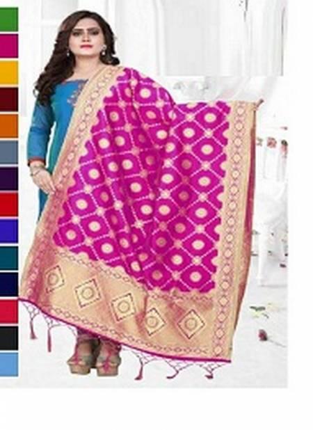 Shree Fab 12048 Different Colour Dupatta Collection Having Gold Colour Print Design