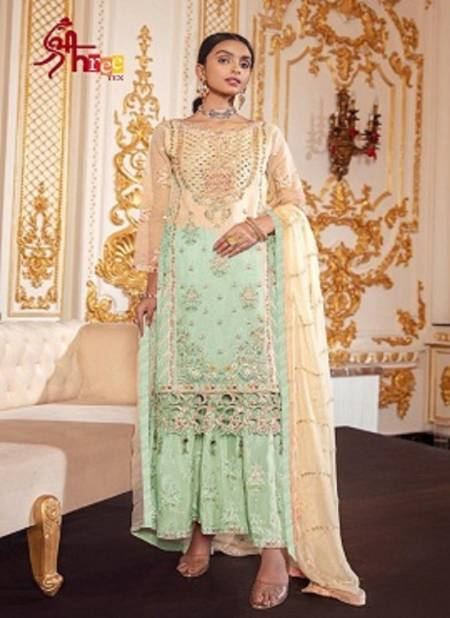 Shree Tex 128 Series Designer Wedding Wear Heavy Net With Embroidery Sequin Work Pakistani Salwar Suits Collection