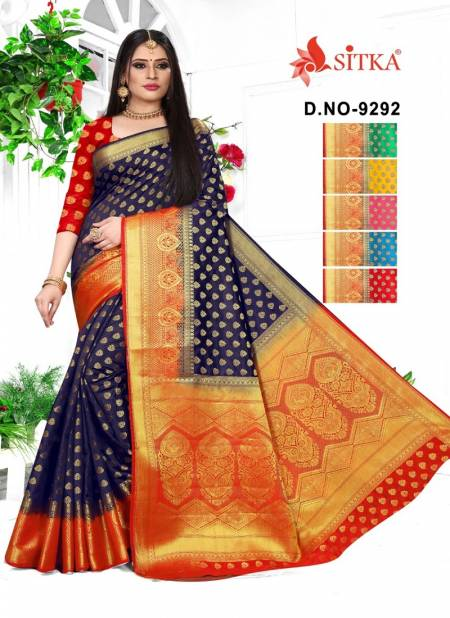 Sixteen 9292 Latest Fancy Designer Festive Wear Cotton Silk Festive Wear Saree Collection