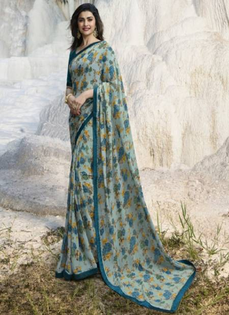 Suhani A32 Casual Wear Georgette Printed Latest Saree Collection