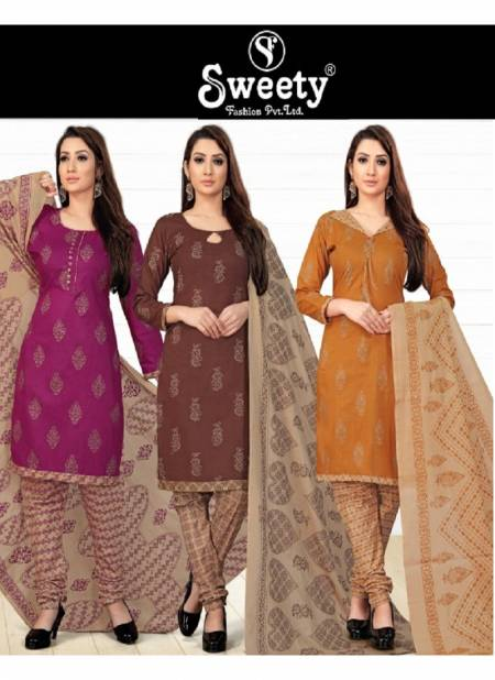 Sweety Bubbly Vol 125 Latest Collection Of Printed Pure Cotton Regular wear Dress Material