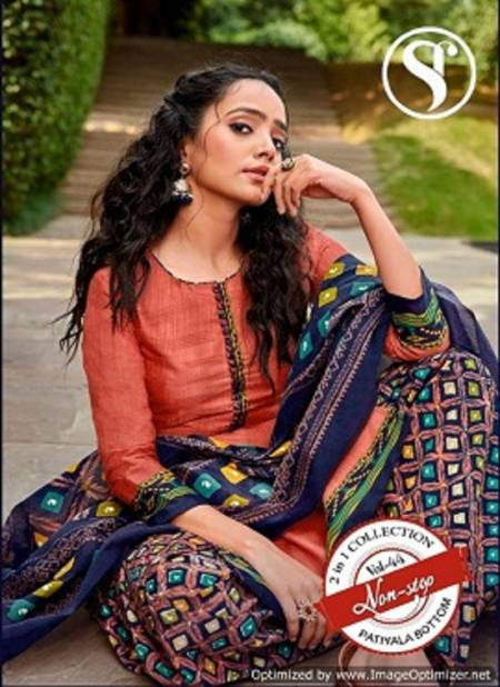 Sweety Non Stop 44 Latest Regular Wear Soft Cotton Printed Dress Material Collection