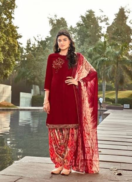 Sweety Pepsi 11 Casual Wear Designer Rayon slub with swaroski work Dress Material Collection